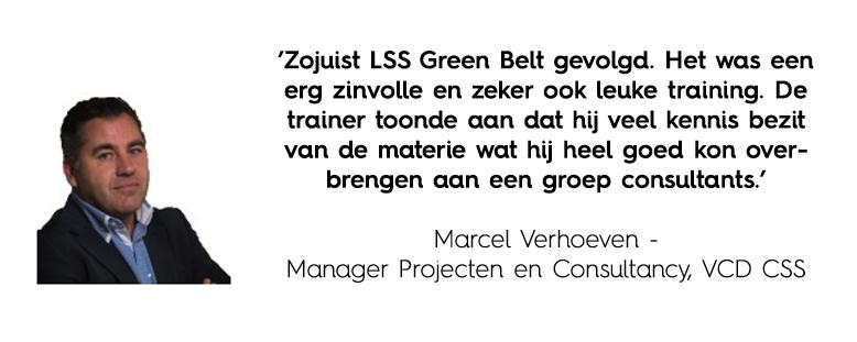 Green Belt recensie Marcel