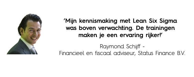 Green Belt recensie Raymond